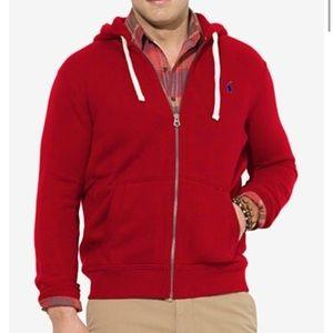 Red Ralph Lauren Hoodie